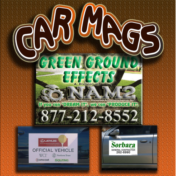 Creative Signs And Graphics Magnetic Signs